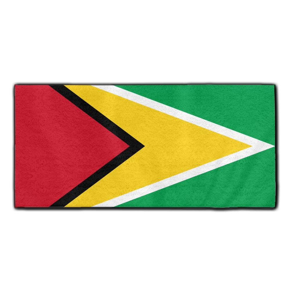 ChunLei Flag Of Guyana Washcloths Face Towel Hair Care Towel Gym And Spa Towel Kitchen Dish Towel