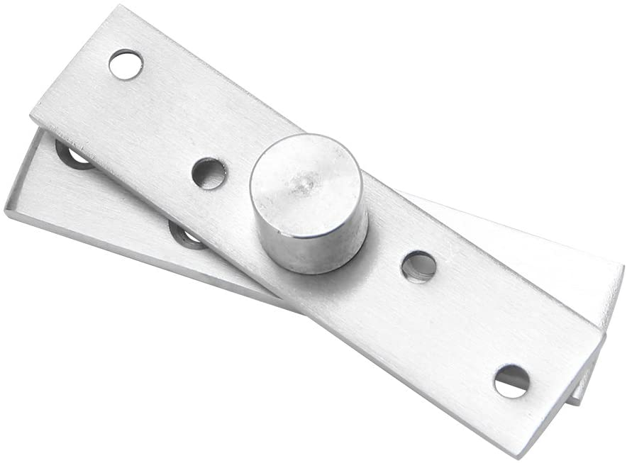 TeemorShop Rotating Hinge 360 Degree Stainless Steel Door Pivot Up Down Shaft 75/95/100mm