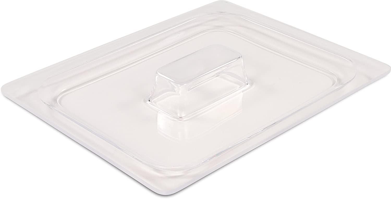 Dinex DXCM112607 Handled Food Pan Lid, Half-Size, 0.5