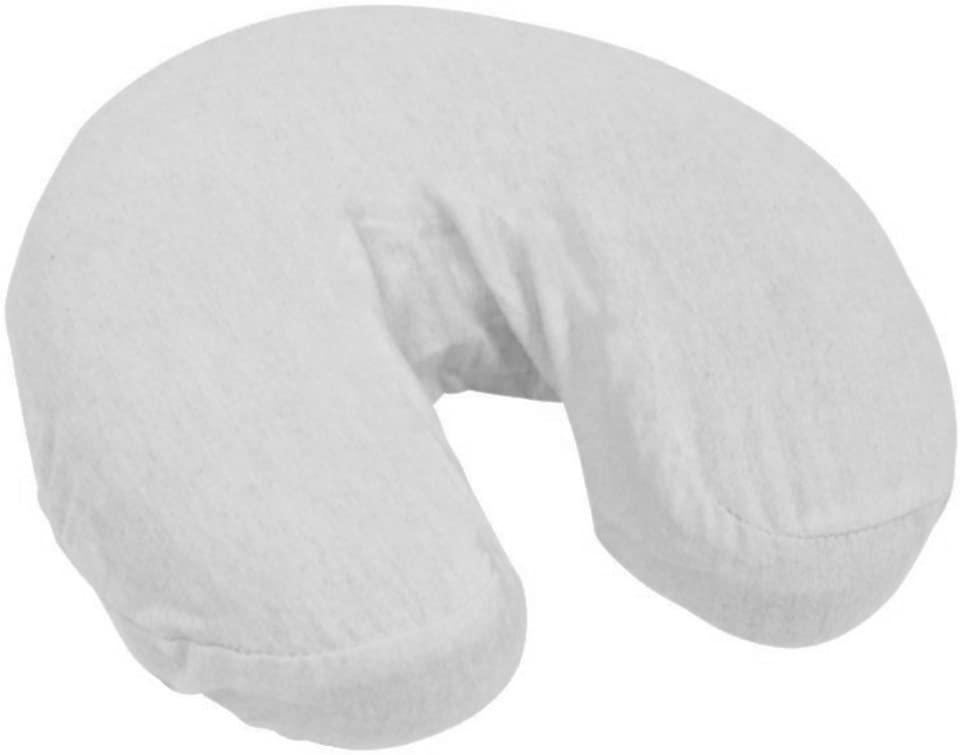 TOA Washable Microfiber Fitted Cradle Head Rest Massage Face Pillow Cover 12/pkg