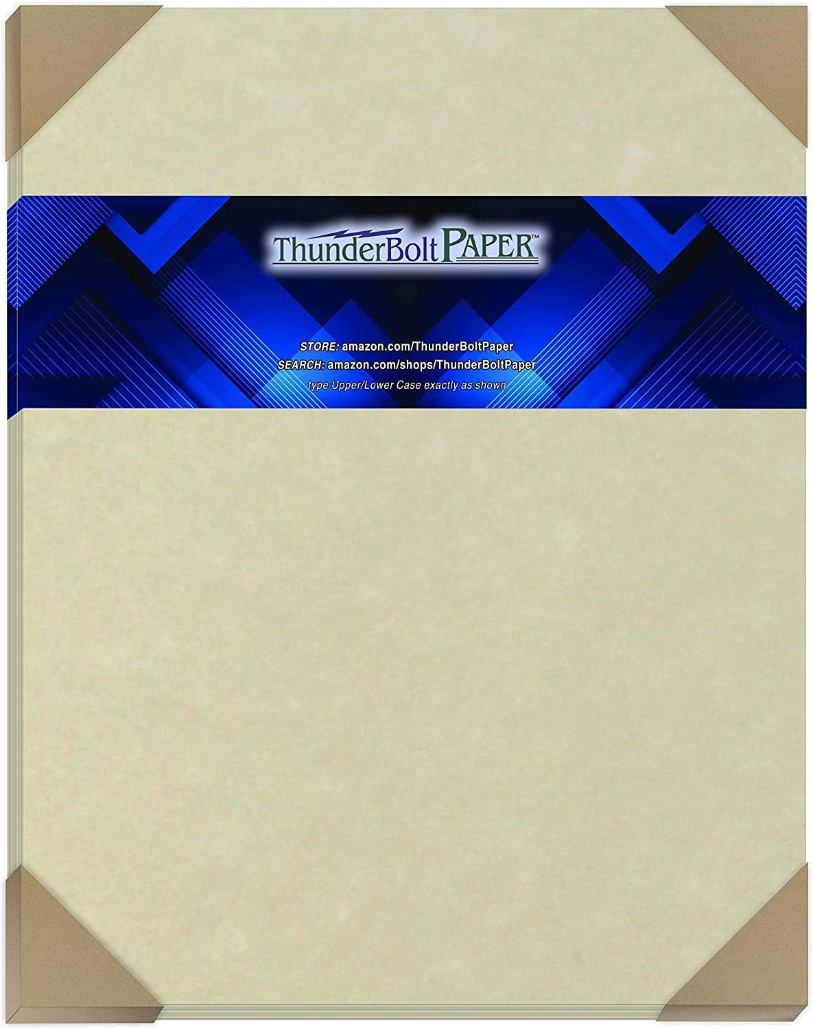 25 Natural Parchment 65lb Cover Paper Sheets 11 X 14 Inches Cardstock Weight Colored Sheets 11