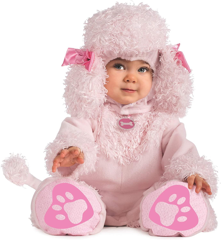 Rubie's Costume Cuddly Jungle Pink Poodles Of Fun Romper Costume