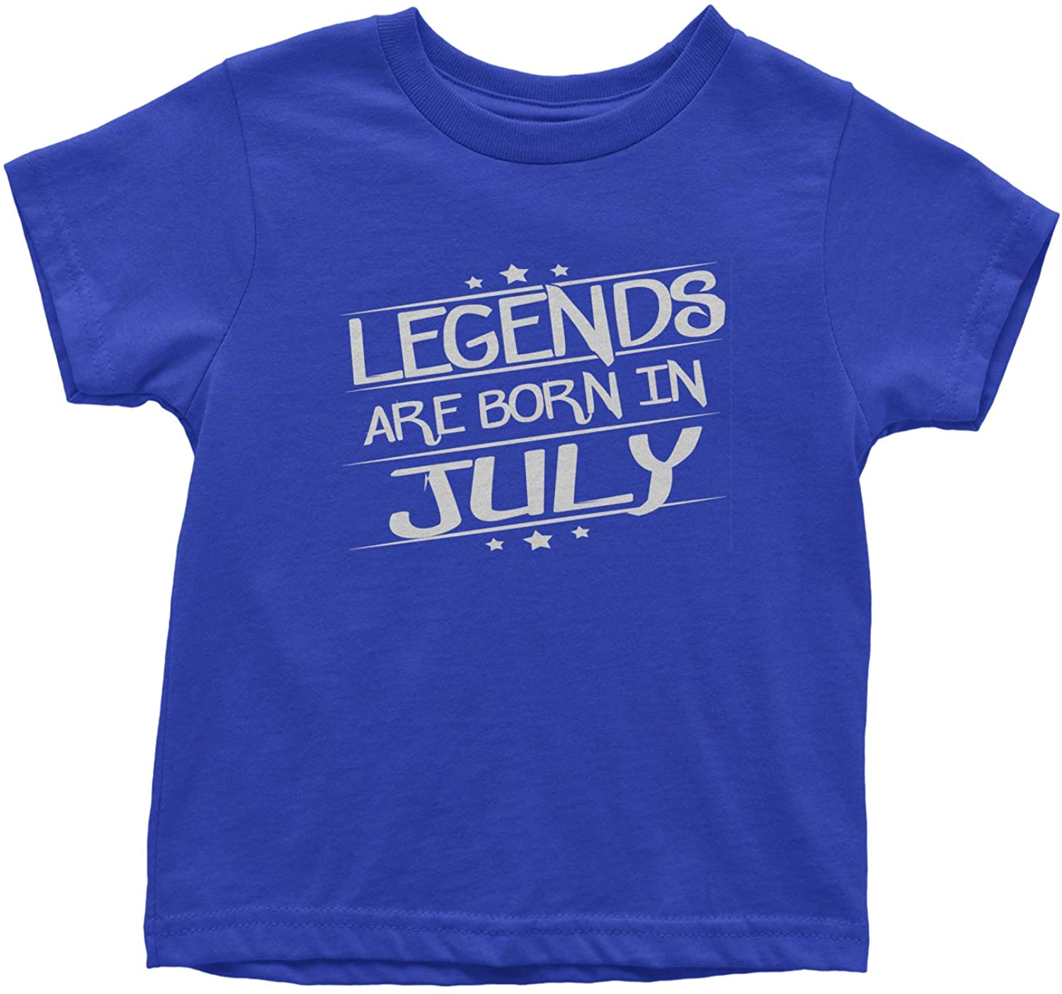 Expression Tees Legends are Born in July Toddler T-Shirt