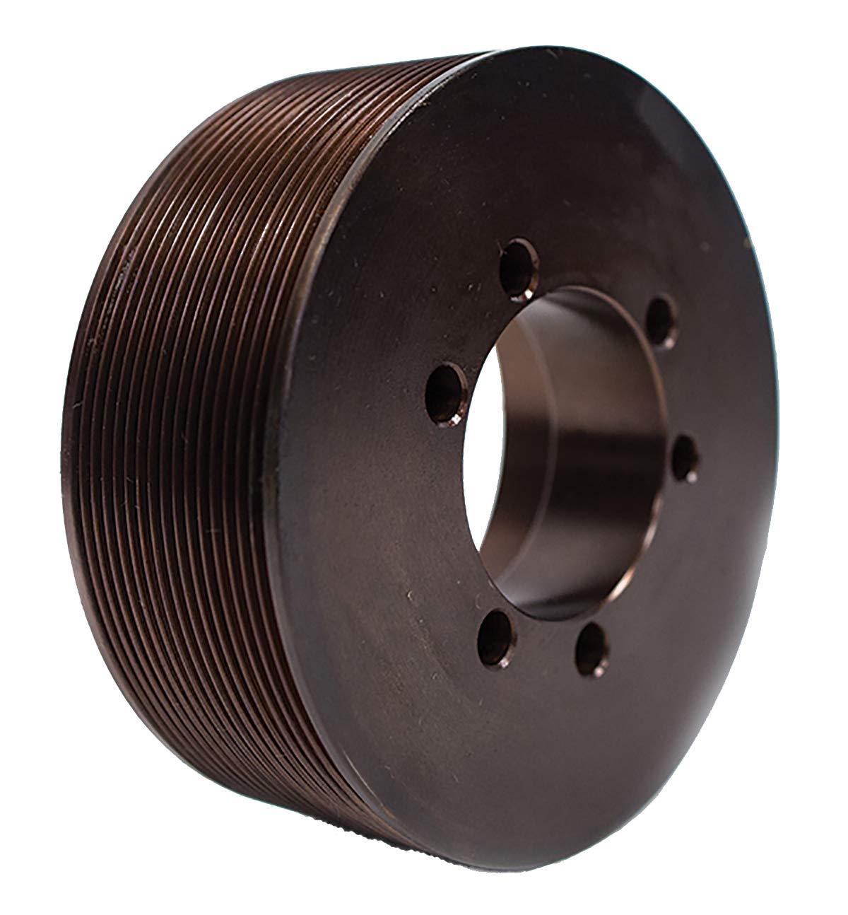 Powerhouse HTD 16J450SH Poly-V Pulley - Steel