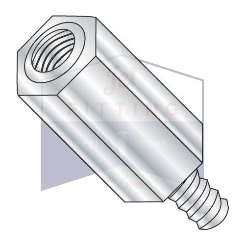 M4-0.7 x 9 6 MM Hex Male Female Standoff Aluminum (QUANTITY: 500 pcs) Made in USA