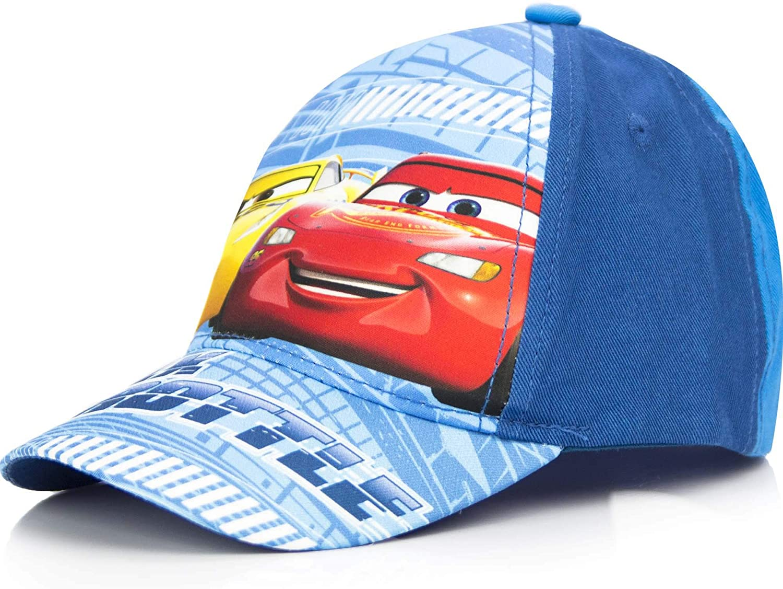 Cars One Size Baseball Cap Two Tone Blue Lightning McQueen and Cruz Ramirez