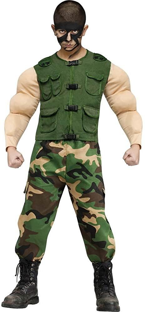 Fun World Jungle Ops Army Kids Costume (Large)