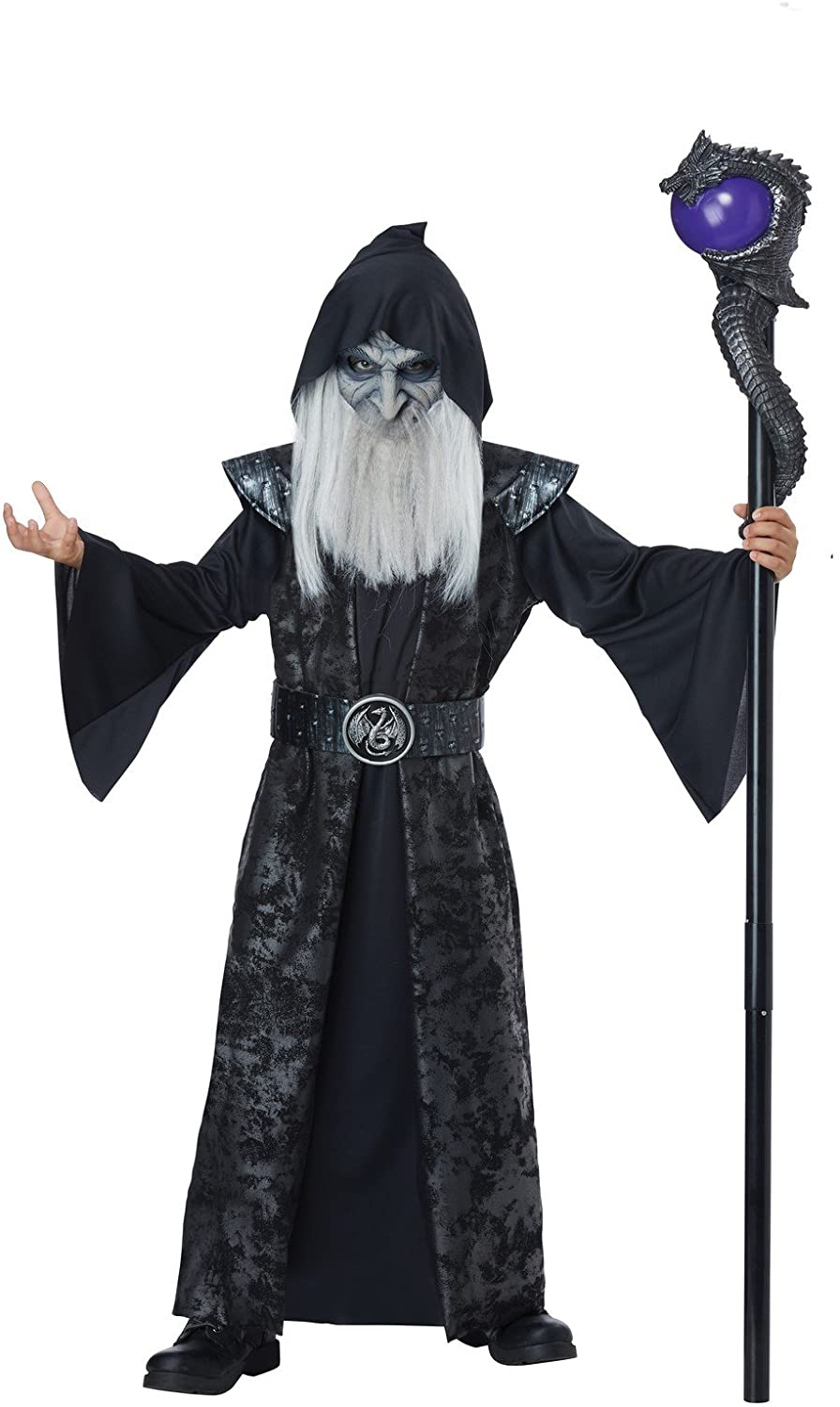 Dark Wizard Costume for Kids