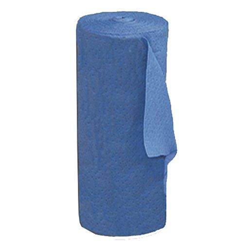 United Sorbents F-BM-R150 Fine Fiber Sorbent Medium Roll, Oil Only, Blue