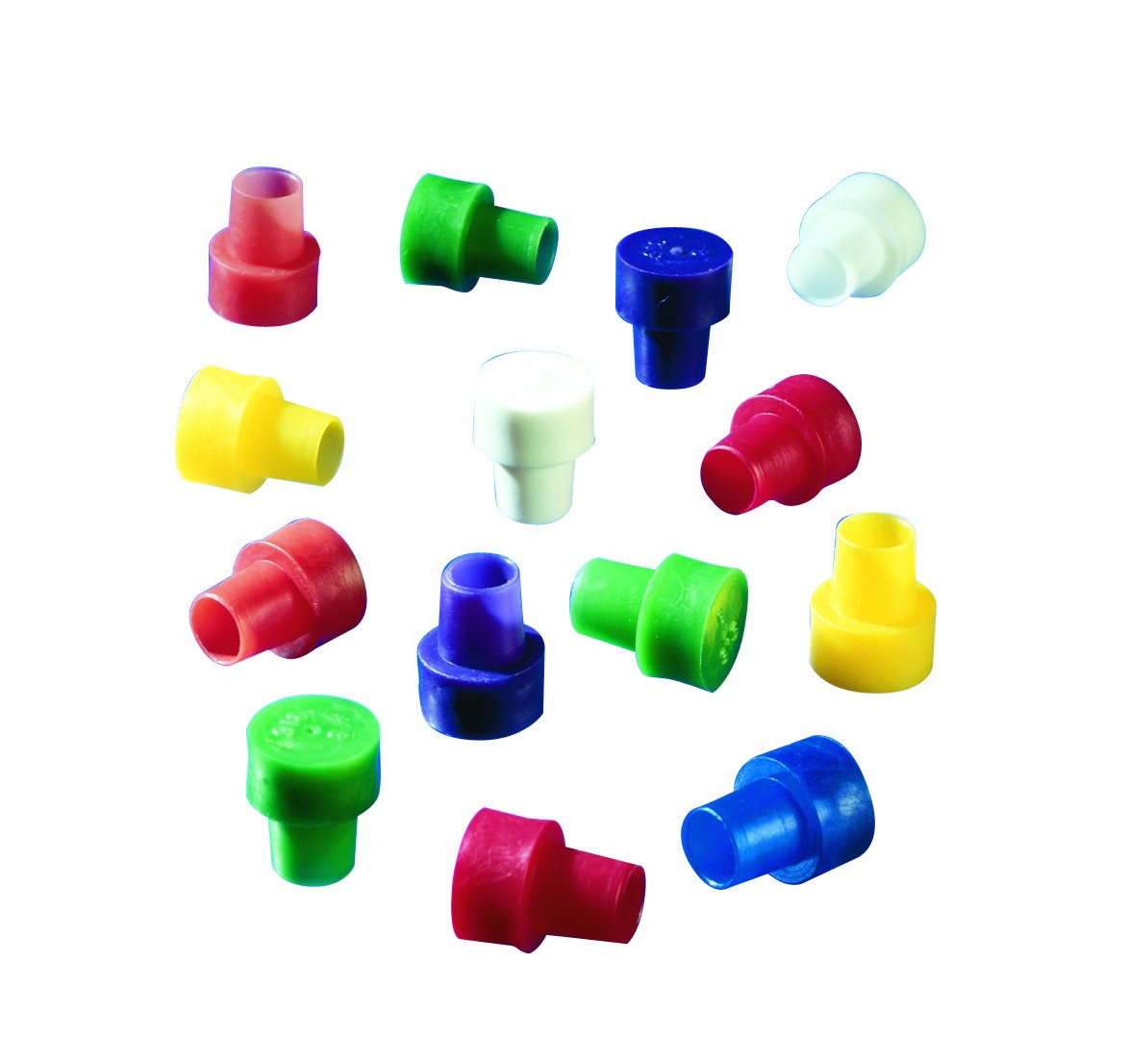 Wilmad 521-ASST-100 Lab Glass Disposable Caps for 5 mm OD NMR Tubes (Pack of 100)
