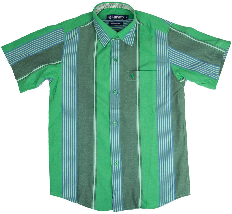 Langosta Unique Apparel Boys Button Down Short Sleeve