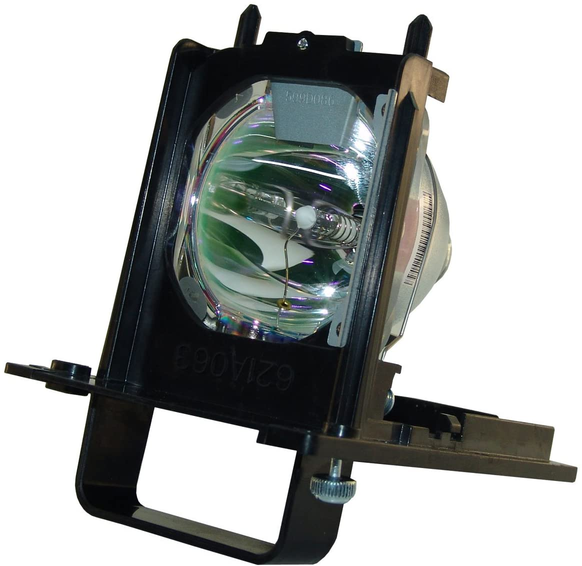 AuraBeam Economy 915B455012 / 915B455A12 for Mitsubishi WD-82642 DLP HD Rear Projection Television Replacement Lamp/Bulb with Housing/Enclosure/Cage