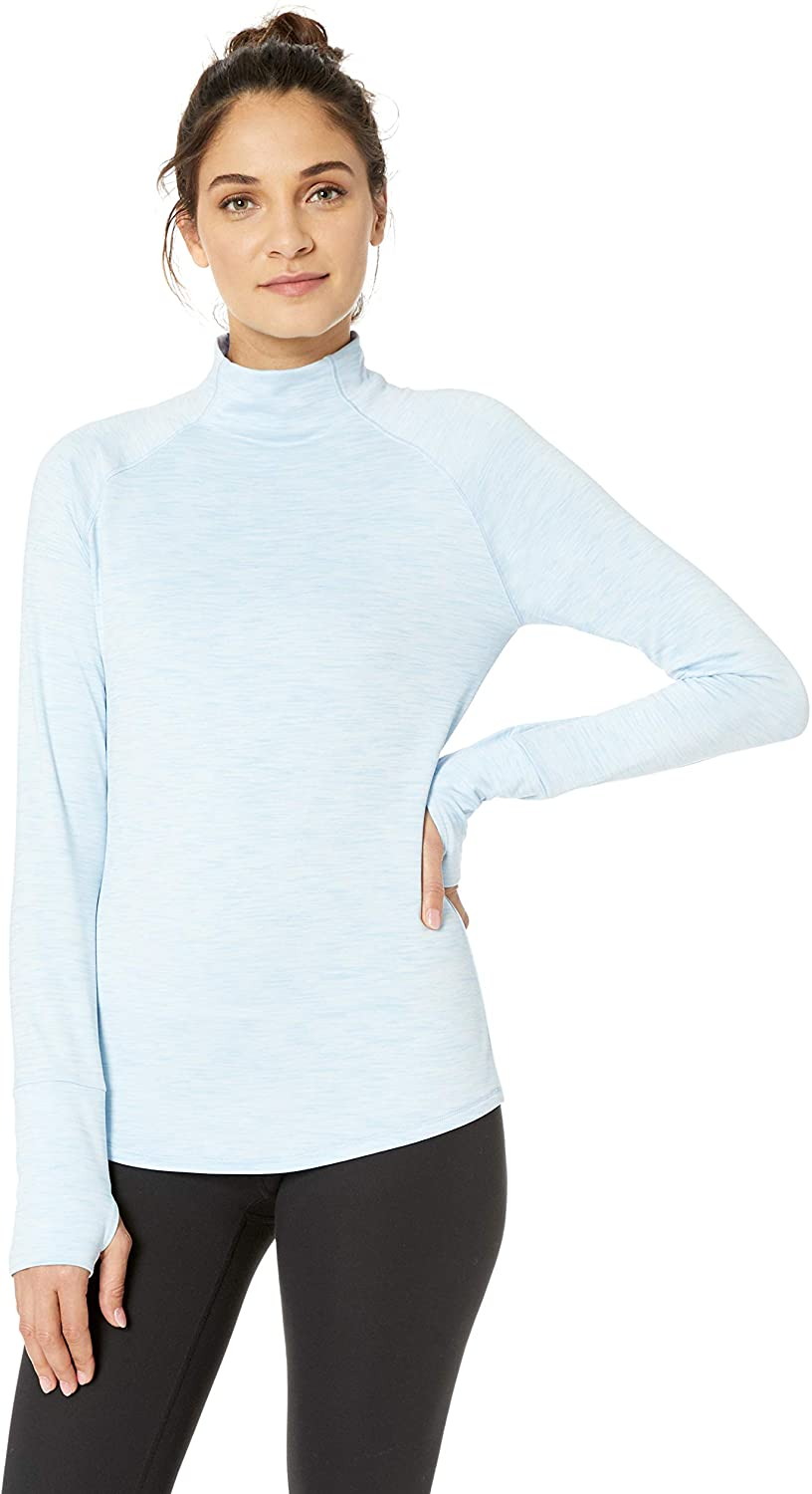 DHgate Brand - Core 10 Women's (XS-3X) Cozy Fitted Mock Neck Workout Long Sleeve Top