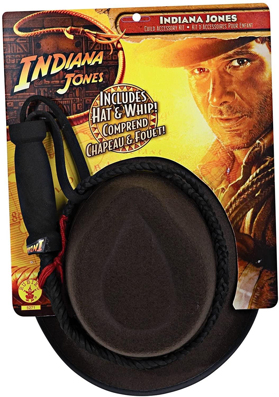 Rubie's Costume Co - Indiana Jones - Indiana Jones Hat and Whip Set Child