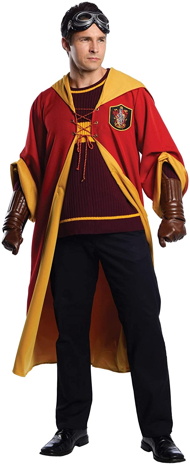 Charades Gryffindor Quidditch Harry Potter Adult Costume