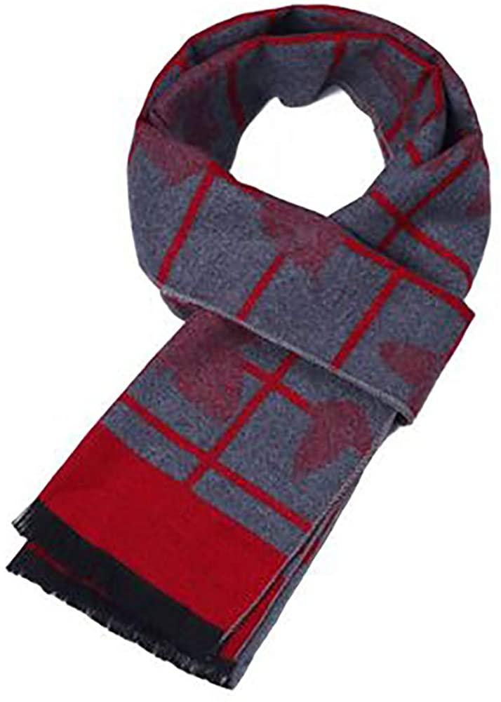 Knitting Shawl, Soft Cashmere Rectangle Winter Autumn Scarf