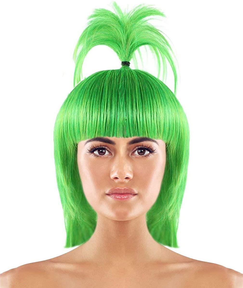 Wig for Cosplay Pokemon Oddish HW-2353