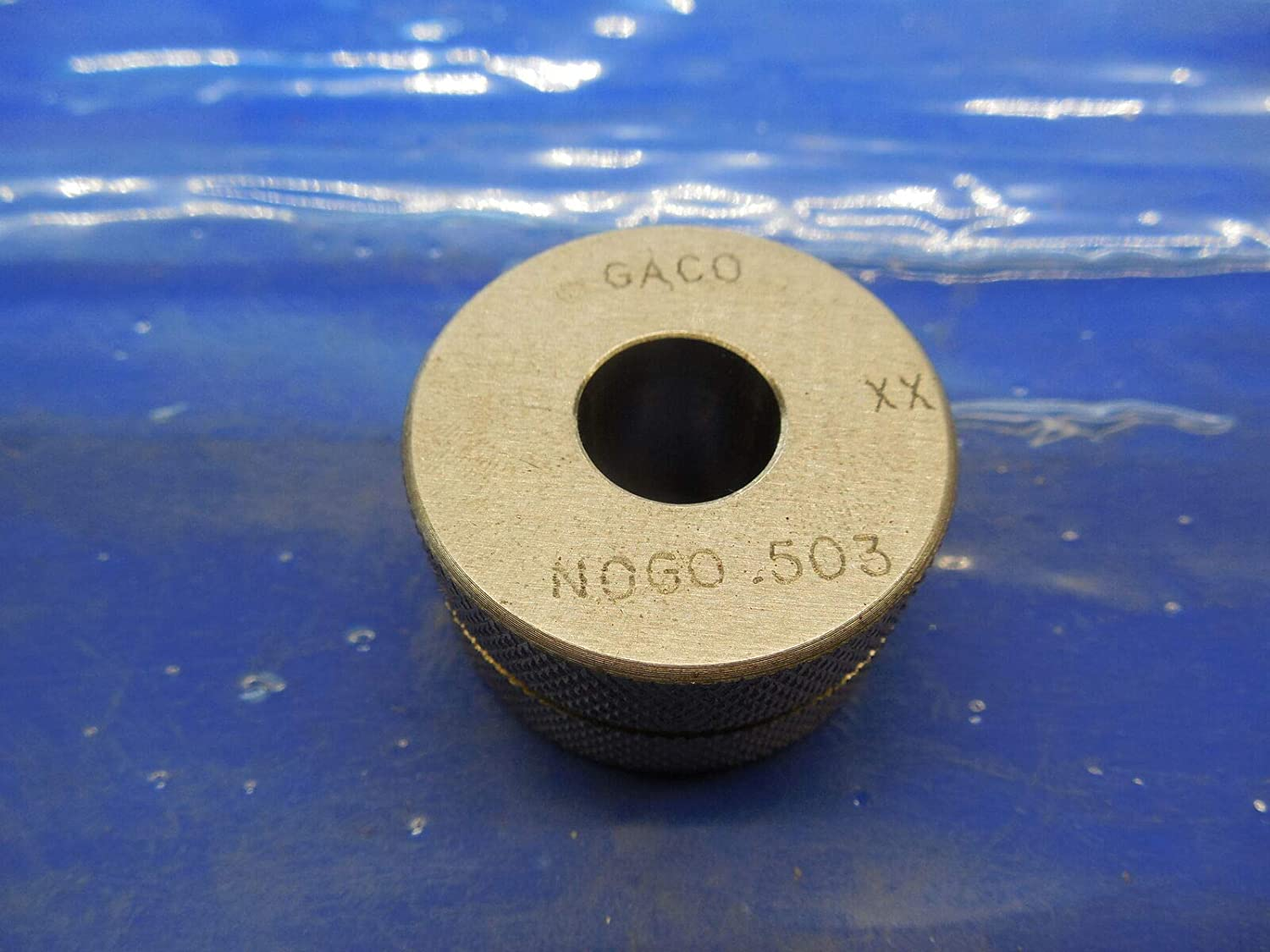.5030 Class XX Master Plain BORE Ring GAGE .5000 +.0030 Oversize 1/2 12.776 mm