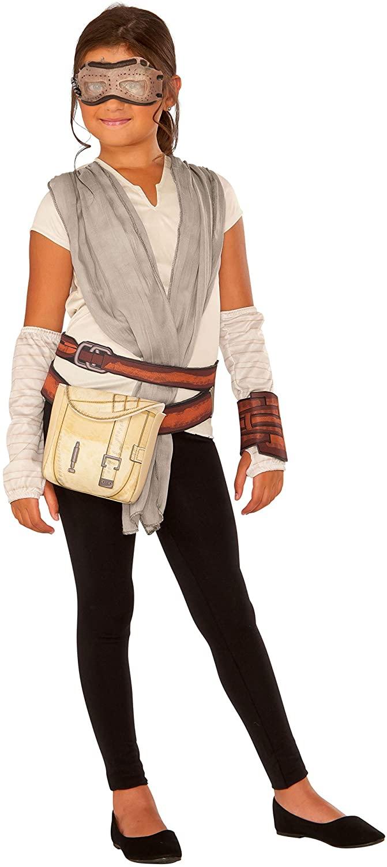 Star Wars Episode VII: The Force Awakens Rey Dress Up Set Costume for Kids