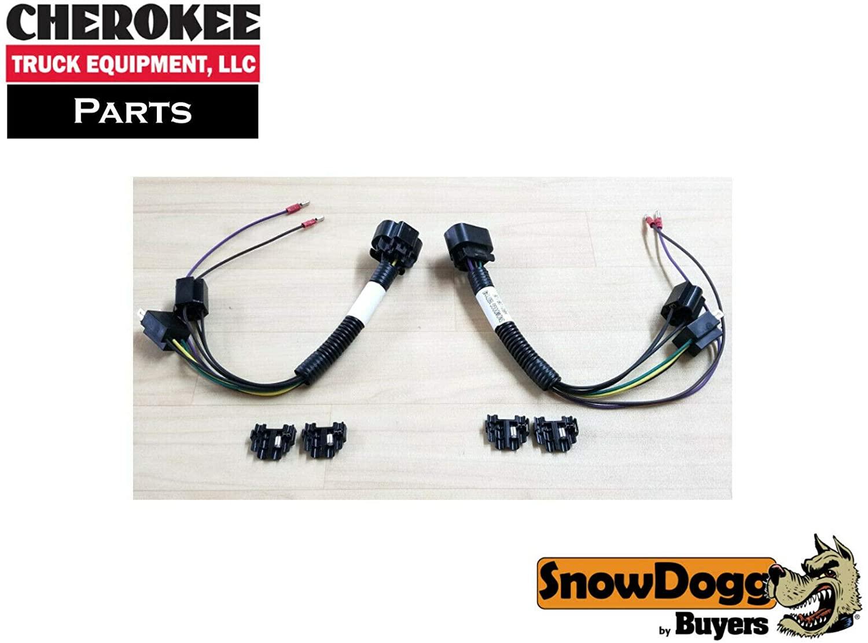SnowDogg Part # 16071140 HEADLIGHT ADAPTER KIT,HB2/2B/2D