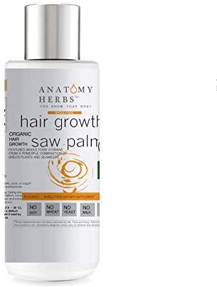 Saw Palmetto SuperMax Hair Growth Shampoo (DHT Blocker, Unclog Blocked Follicles, Optimal Hair Growth)