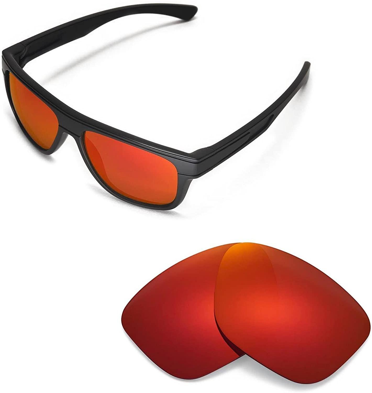 Walleva Replacement Lenses for Oakley Breadbox Sunglasses -Multiple Options