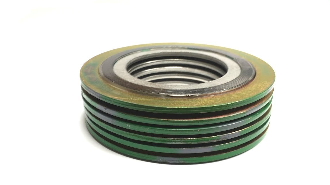 Sterling Seal & Supply SSS 9000IR1500316GR600X6 Spiral Wound Gasket with 316SS Inner Ring, 1-1/2
