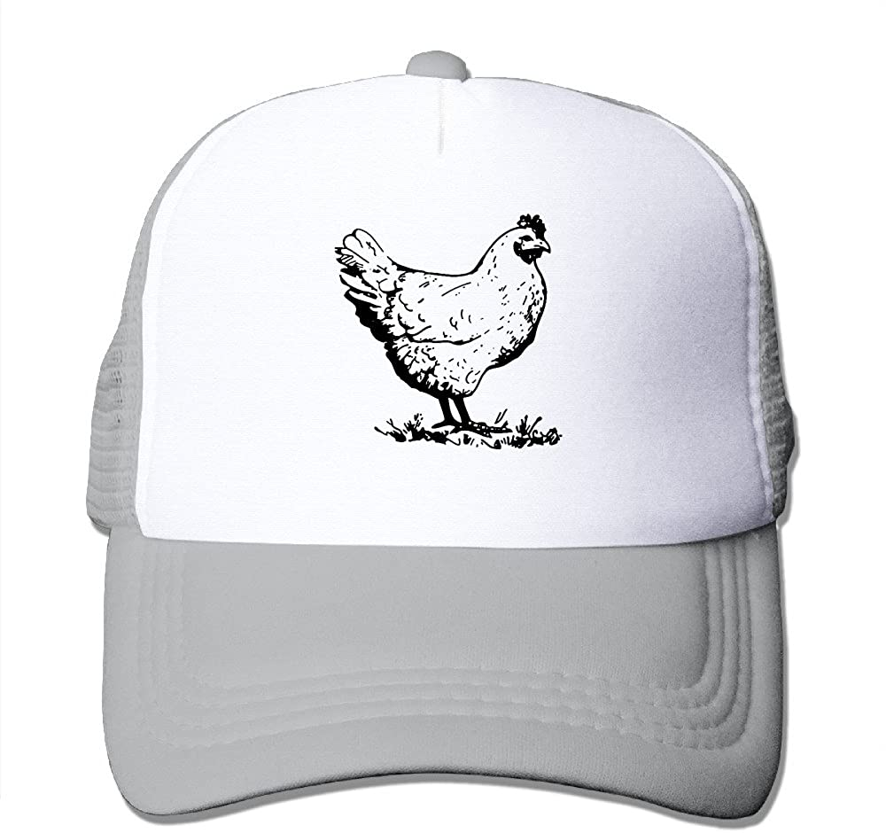Chicken Funny Infant Custom Sunhats One Size Fits Most Dancing Mesh Cap Adjustable