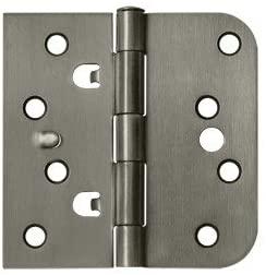 STEEL HINGE 4X4 X5/8R/SQ 2TAB SEC US15A