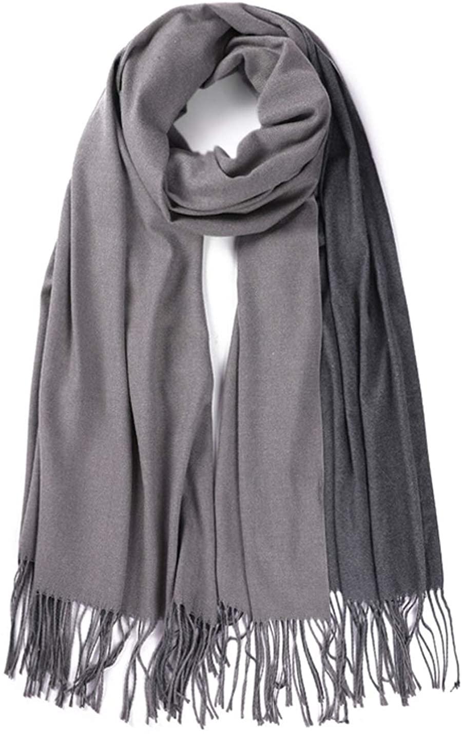 SHAREYOIU Womens Fashion Long Shawl Winter Warm Blanket Scarf