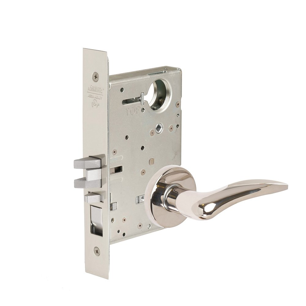 CORBINRUSSWIN ML2051-DSA-625-L-LC 625 Bright Polished Chrome, Lever DSA Dirke, Entrance/Entry/Office, Steel; Stainless Steel; Brass