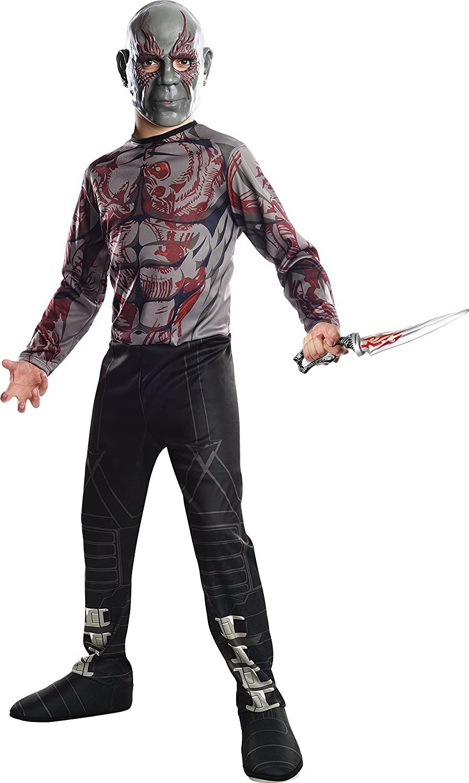 Child's Boys Guardians Of The Galaxy Vol. 2 Drax Costume