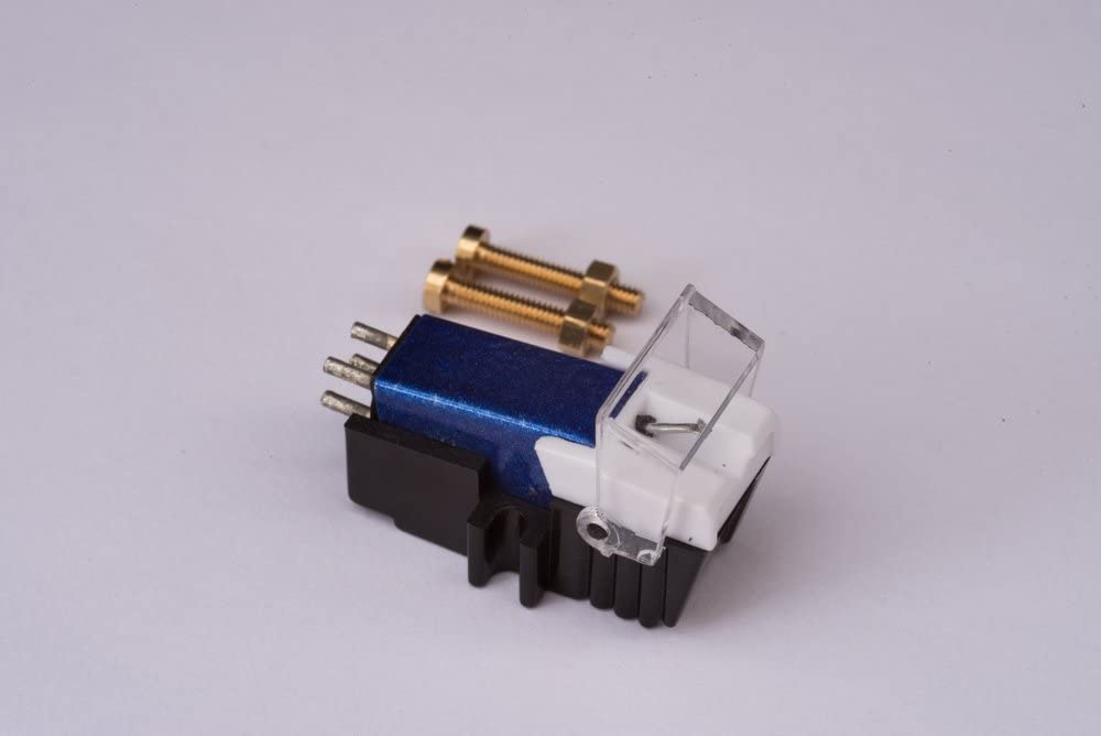 Cartridge and Stylus, Needle with mounting Bolts for Sansui SR222, P50, FRD3, FR5080S, SR212, FRD35, FRQ5, SR525, FRD25, SR333, FR1080, FR3060, FR4060, SR1050, SR2020