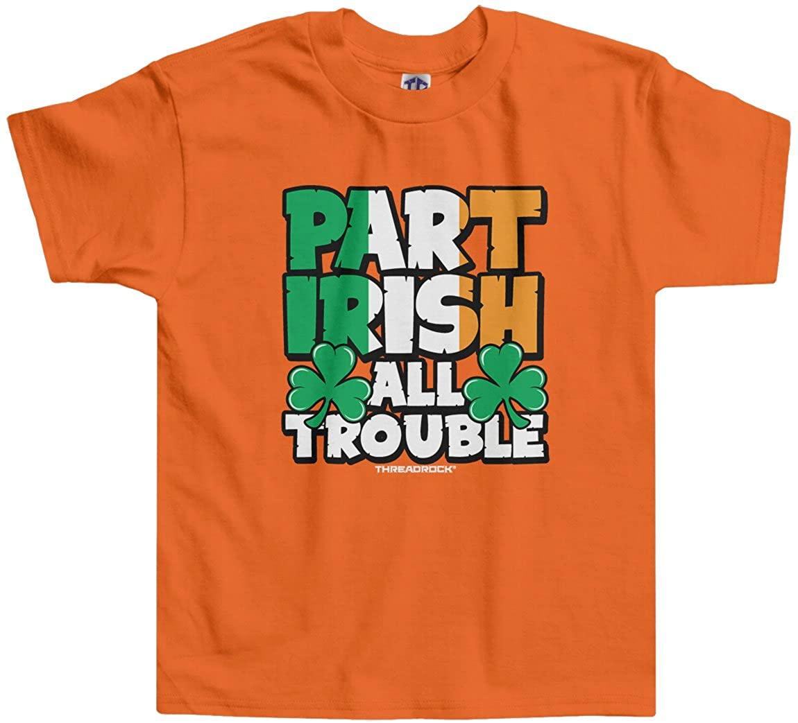 Threadrock Little Boys' Part Irish All Trouble Toddler T-Shirt