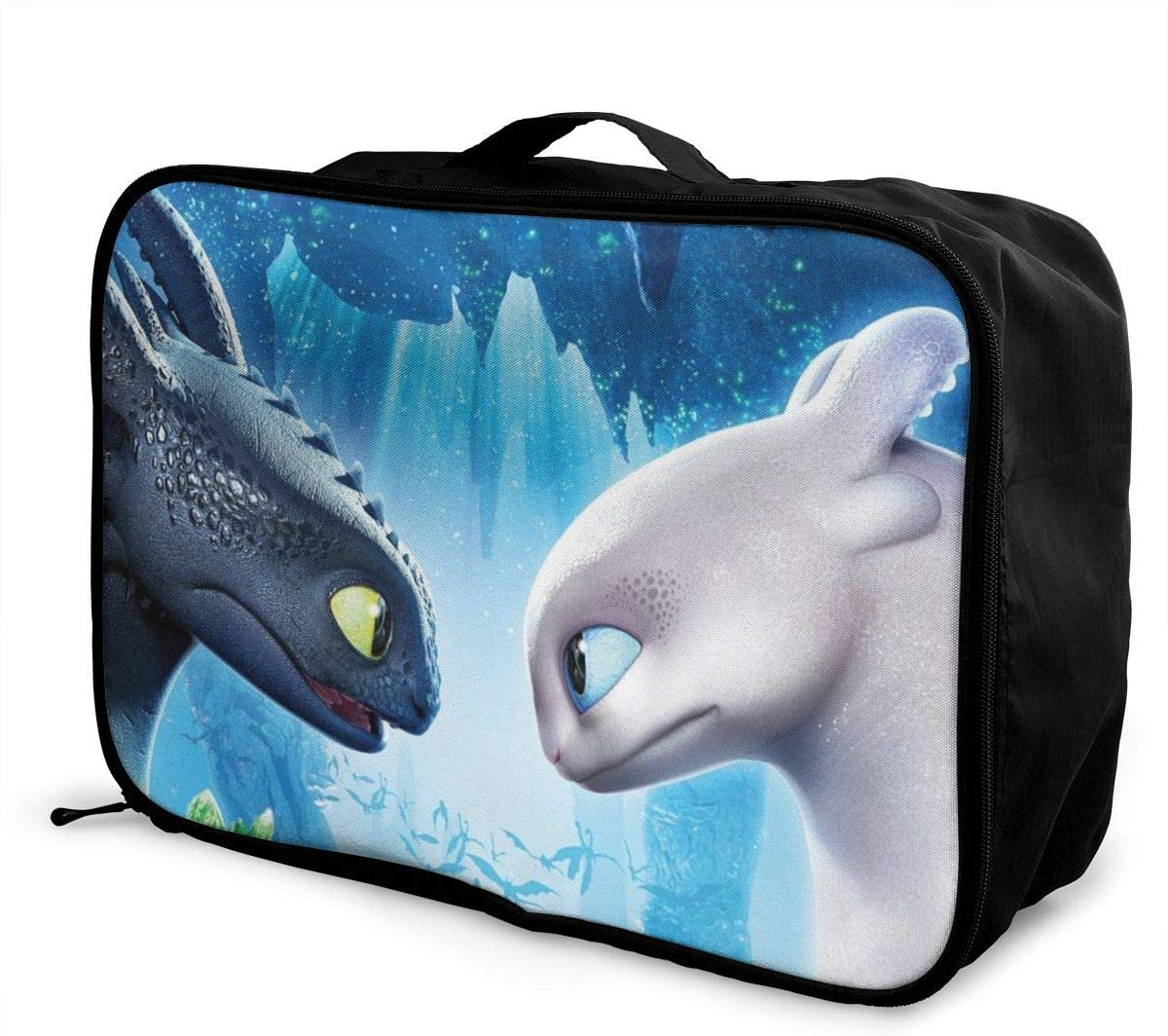 Travel Luggage Bag How To Train Your Dragon Lightweight Super Large Capacity Hand Luggage Bag Weekend Bag Overnight Carry Bag