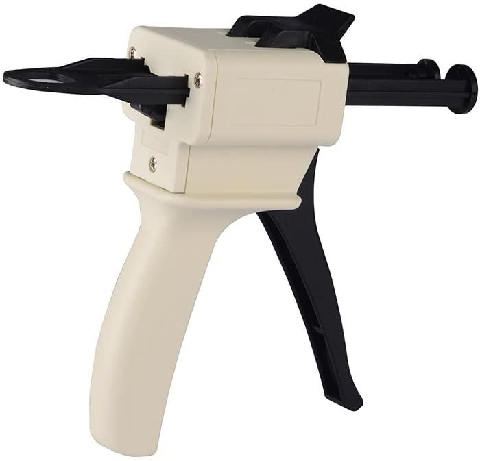 Easyinsmile Impression Mixing Dispensing Dispenser Gun 10:1/1:4 Ratio 50ml / 1:1,2:1 (1:1/1:2)