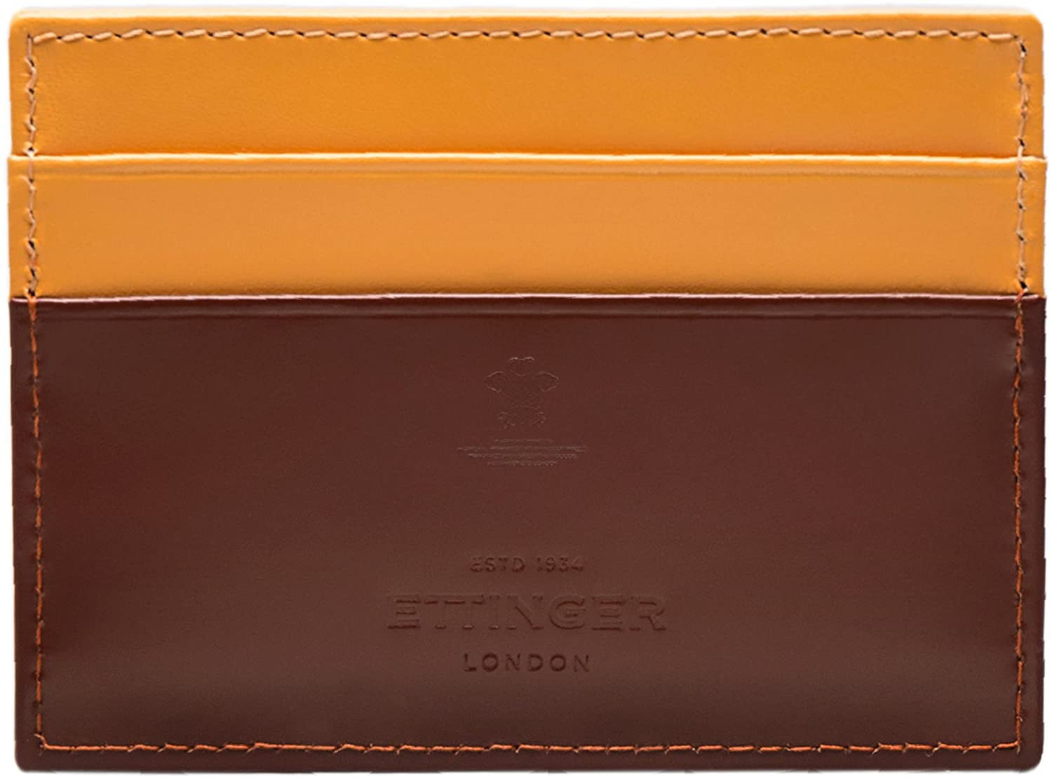 Ettinger Bridle Hide Flat Credit Card Case