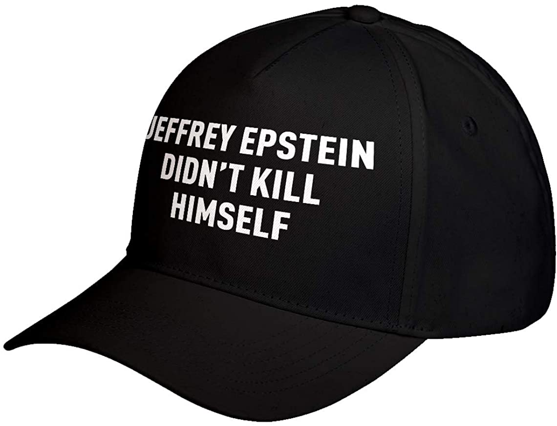 Hat Jeffrey Epstein Didn't Kill Himself Adjustable Unisex Baseball Cap