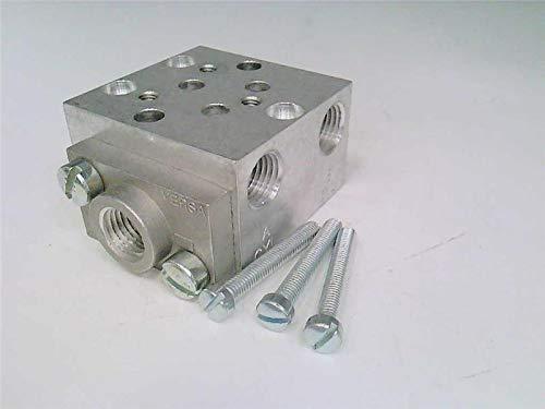 VERSA VALVES KM-430-E Pneumatic Valve SUBPLATE