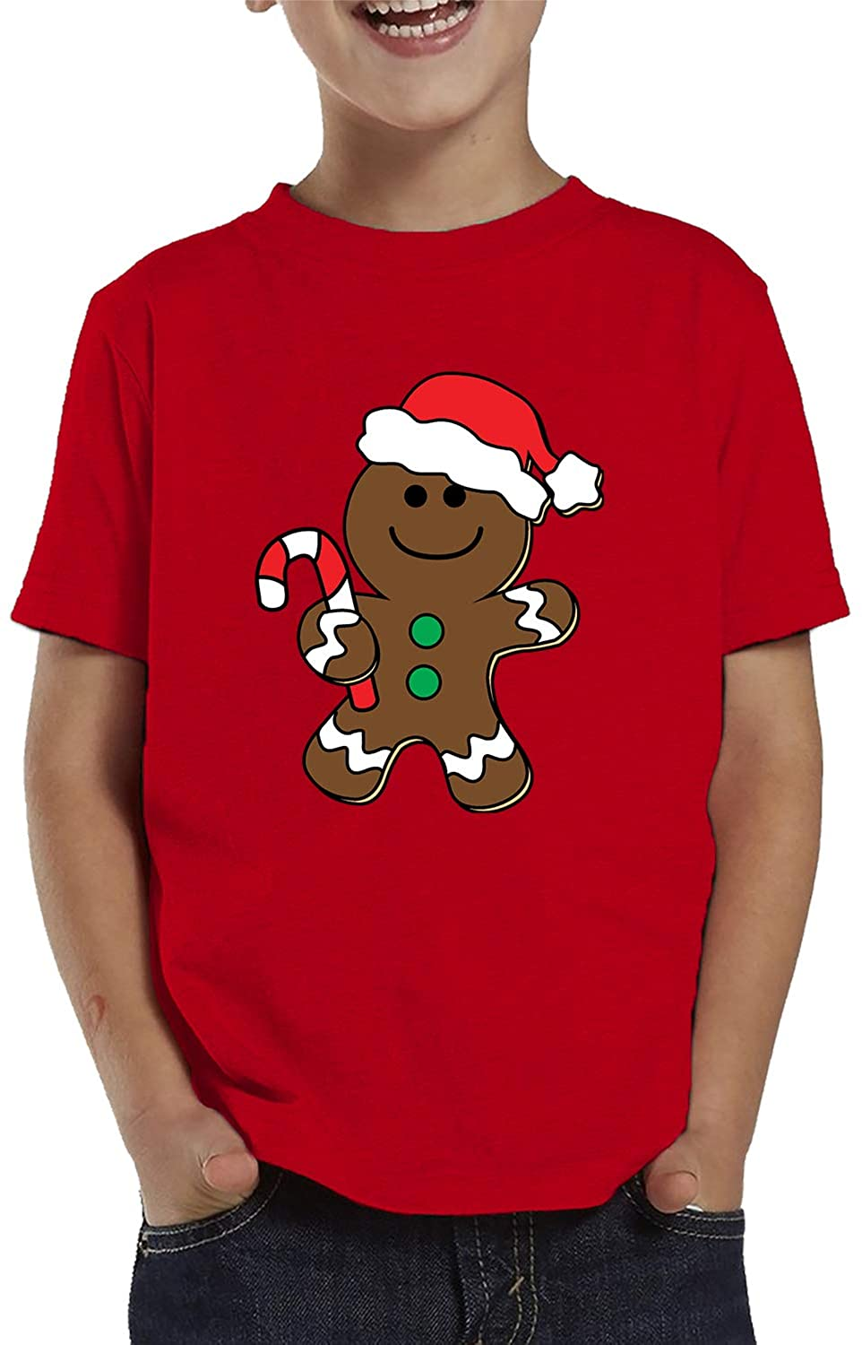SpiritForged Apparel Christmas Gingerbread Man Toddler T-Shirt
