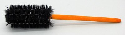 SEOH Beaker and Jar Brush Black Bristle Wooden Handle