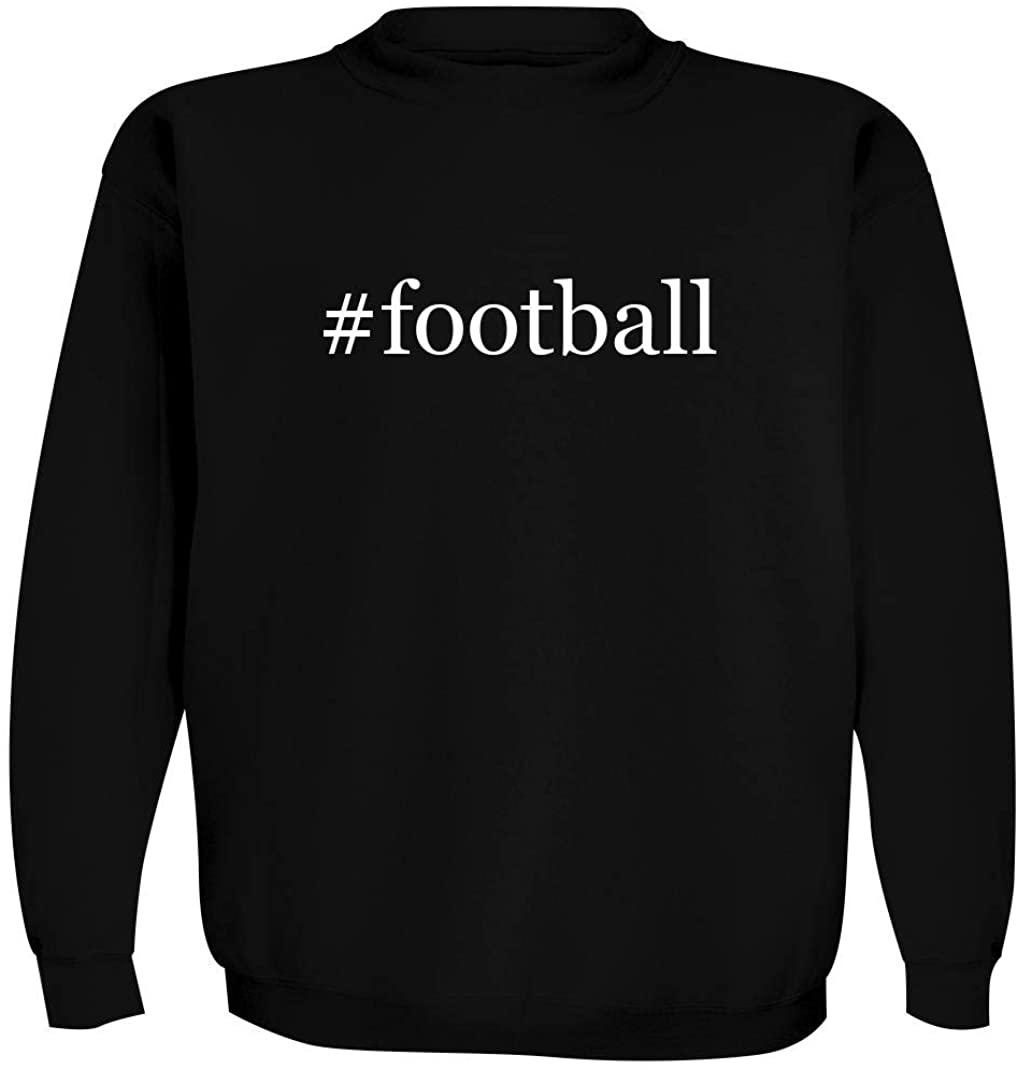 #football - Men's Hashtag Crewneck Sweatshirt