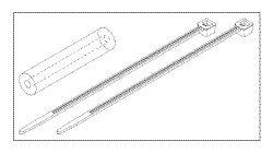 Pressure Tube Kit for Midmark - Ritter RPK282