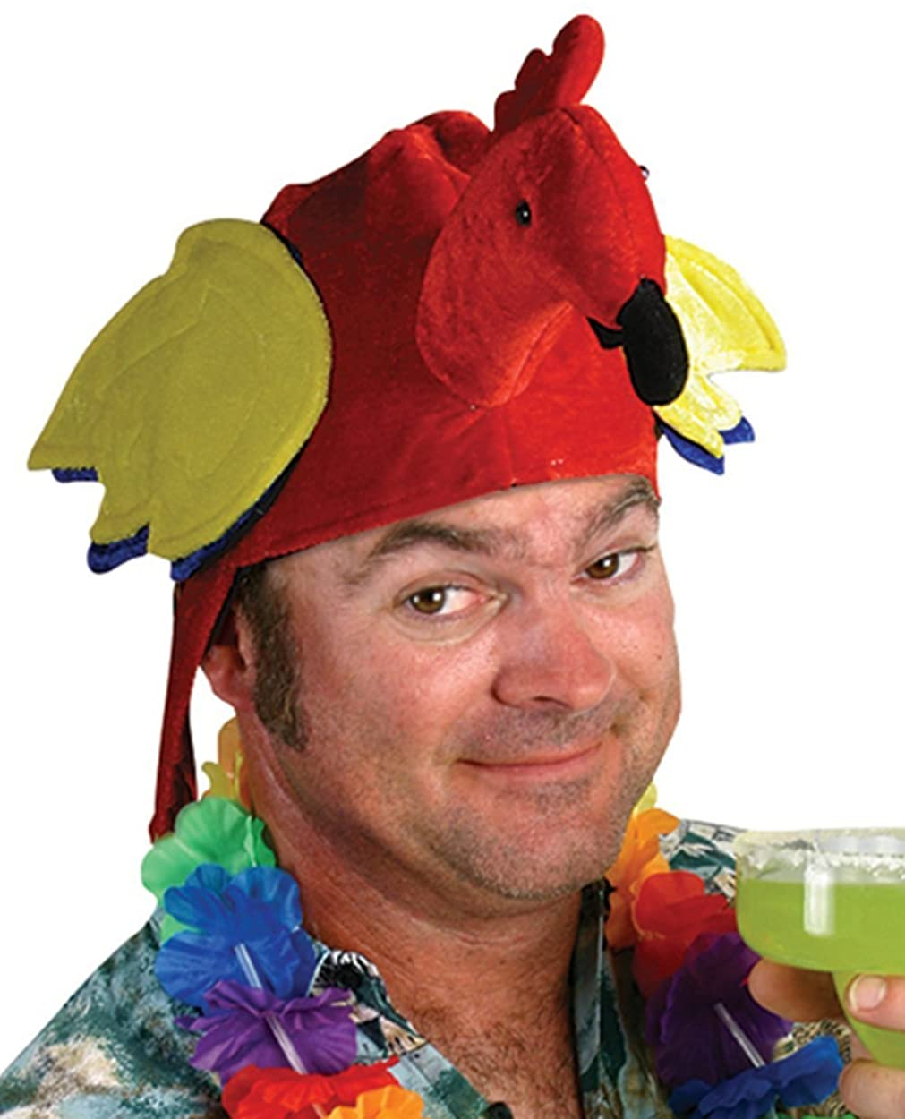 Parrot Hat with Red