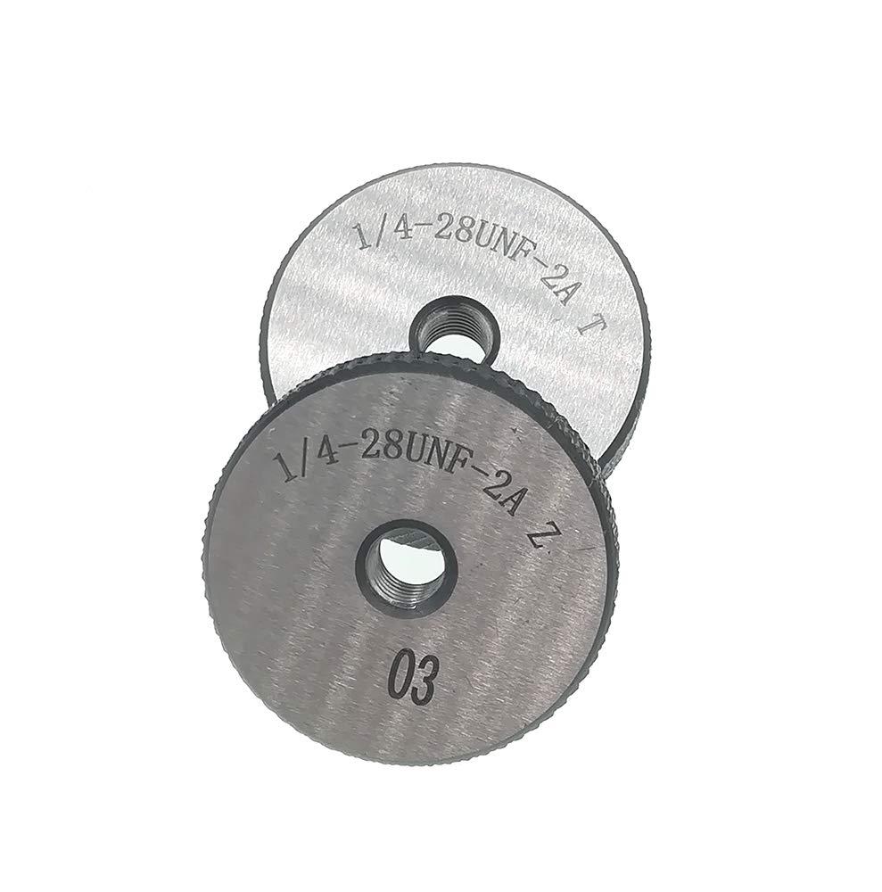 Thread Ring Gage 1/4-28 UNF 2A Thread Ring Gauge GO NOGO