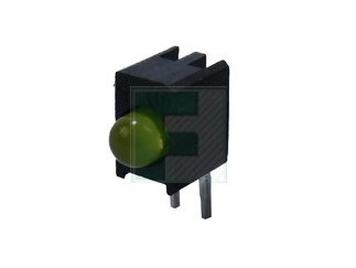 DIALIGHT 551-0312-802F 551 Series Yellow 3 mm 45° 2.2 mcd Diffused 10 mA 2.1 V Circuit Board Indicator - 100 item(s)
