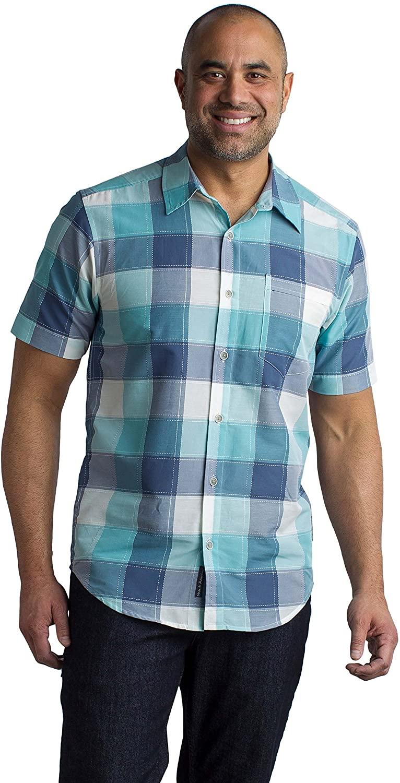 ExOfficio Men's Next-to-Nothing Artesia Plaid Lightweight Short-Sleeve Shirt
