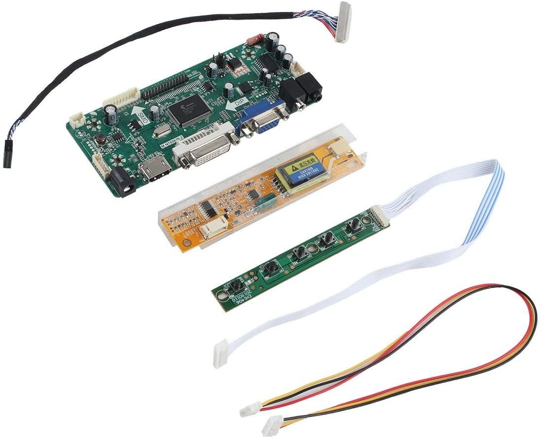 Professional M.NT68676.2A HDMI DVI VGA Audio LCD LED Screen Controller Board DIY Screen Monitor Kit Set