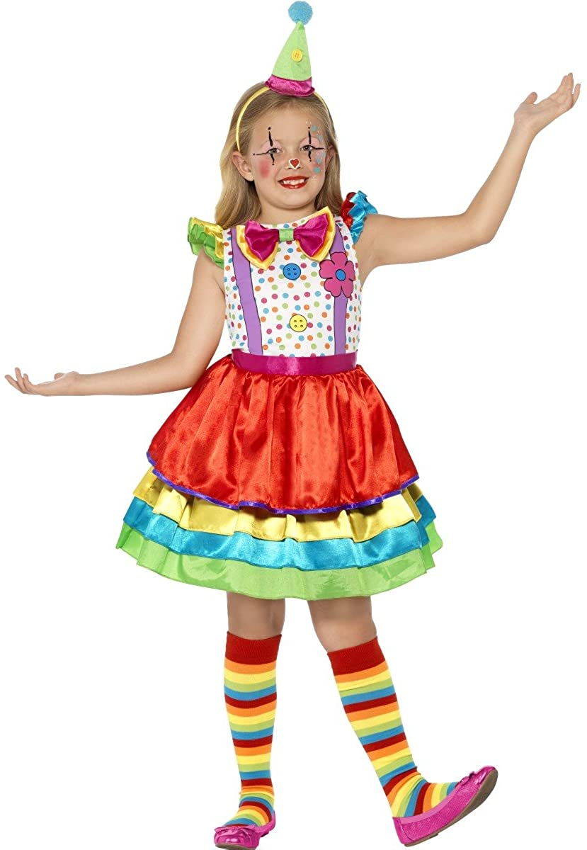 Smiffy's Childs Deluxe Clown Costume for Kids