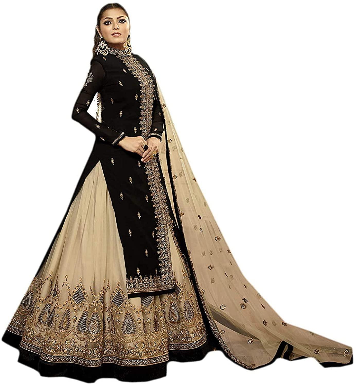 stylishfashion Pakistani Anarkali Lehenga Suits Salwar Kameez Dupatta Suits for Woman